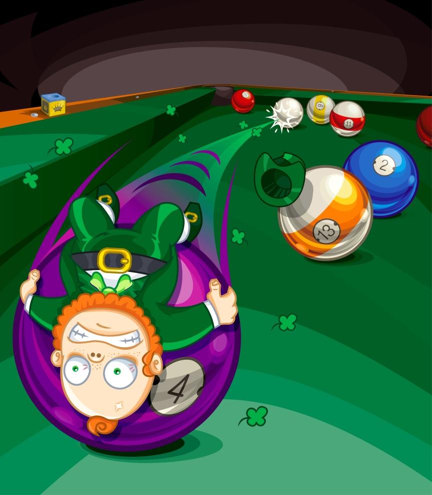 Billiards_Leprechaun